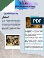 taller romanticismo,realismo,ilustracion