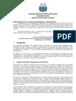 Protocolo  AFA