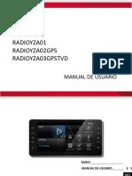 RAV 4 Manual Radios YZA01, YZA02, YZA03