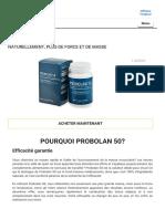 Probolan 50 - les meilleures pilules pour la masse musculaire