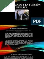 EL ABOGADO Y LA FUNCION PUBLICA  2
