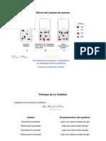 EFECTO DEL CAMBIO DE P en EQ