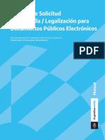 Apostilla y Legalizaciones Para Documentos Electronicos