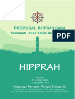 Contoh Proposal  Bantuan Dana Santuan Yatim PiatuHipprah 2020