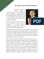 EL GOBIERNO DE ALBERTO KENYA FUJIMORI FUJIMORI