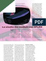 XFLR5 Studio Modelli