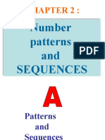 chapter 2 number pattern & sequences