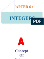 chapter 6 integers
