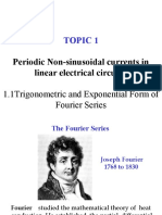 TRIG. & EXPON. FORM OF FOURIER SERIES-1
