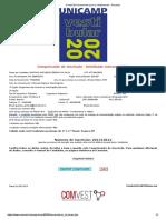 Comissão Permanente para os Vestibulares - Unicamp