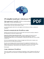 15 semplici modi per velocizzare WordPress.docx