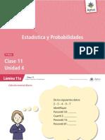 estadísticas y probabilidades 2