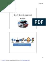 SCM Session 1 pdf