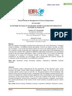 revue -Economie Sociale Et Solidaire ,Entre Valeurs Historiques