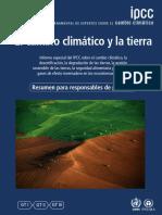 IPPC cambio climatico 2020