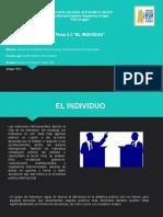 Exposicion Tema -El individuo-