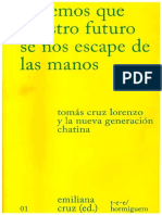 2019 Emiliana Cruz (ed) 'Evitemos que nuestro futuro se nos escape de las manos'.pdf