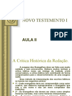 NOVO TESTEMENTO I - AULA II - CETEF.ppt
