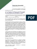 Definición del Desarroll sostenible y sus derivados