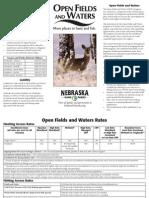 Open Fields and Waters Brochure