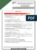 Mechanical Properties of Fluids  Worksheet ( Fully Solved )