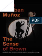 Jose Munoz Sense of Brown