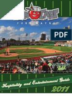 Fort Wayne TinCaps 2011 Hospitality Guide
