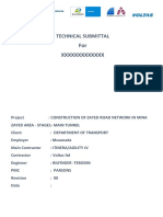 Technical  Submittal format