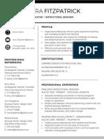 edt 503 resume