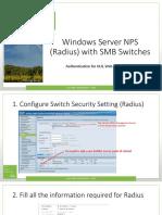Windows Server NPS (Radius) with SMB