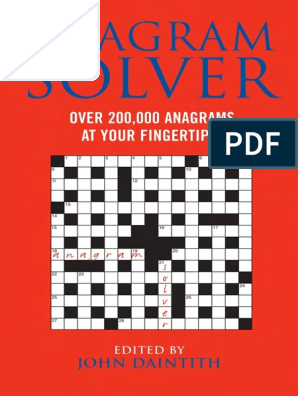 Anagram Solver Over 200 000 Anagrams At Your Fingertips Pdfdrive Com Pdf Books Nature