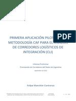 CAF Corredores Norte Argentina Informe Preliminar 20180919