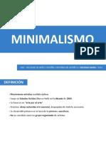 Minimalismo - Soledad Dasmi