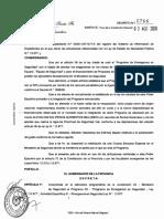 Decreto 766 del gobernador Omar Perotti que declara la Emergencia en Seguridad