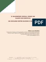 O imaginário social como campo de disputa um diálogo entre backzko e bourdieu