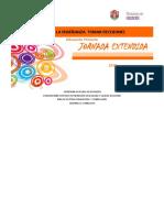 PENSAR LA ENSENANZA JORNADA EXTENDIDA - Expresiones Artísticos Culturales
