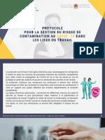 Protocole pour la gestion du risque de contamination covid-19