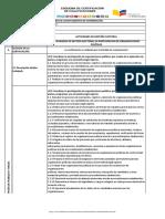 ACTIVIDADES DE GESTIÓN ELECTORAL EN PARTICIPACIÓN DE ORGANIZACIONES POLÍTICAS
