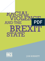 Racial violence of the Brexit state