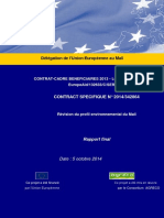 UE_profil environnemental du Mali.pdf