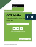 Revision-Trigonometry-GCE-Questions