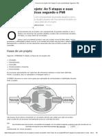 Fases de um projeto_ As 5 etapas e suas características segundo o PMI