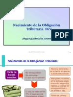 IGV nacimiento OT-credito fiscal