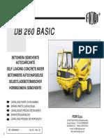 Ricambi DB 260 BASIC ed00 rev00