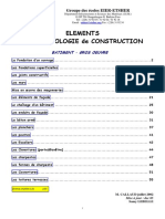 element de technologie de construction