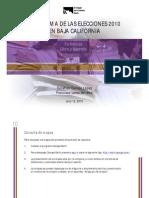 Panorama de las elecciones 2010 Baja California