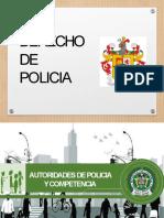 3. PRESENTACION DERECHO DE POLICIA AUTORIDADES DE POLICIA