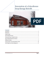 Residential Renovation of a Schoolhouse – A Deep Energy Retrofit
