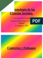 Epistemologia ciencias sociales