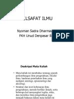 Sadra Filsafat Ilmu 1 PDF